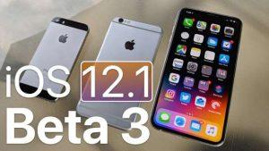 Apple Tarafından iOS 12.1.3 Beta Güncellemesi Yayınladı